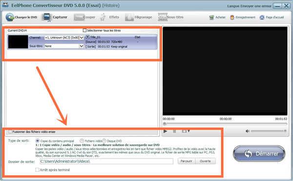 Convertir DVD en html5