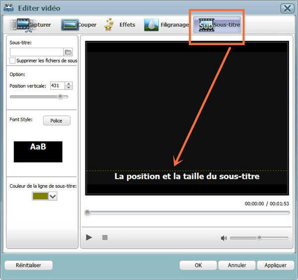 Convertir DVD vers FLV
