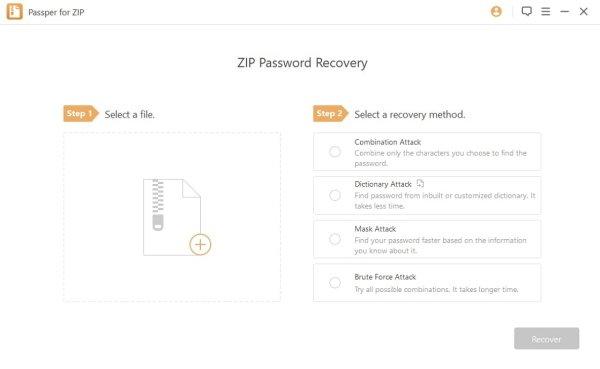 cracker un fichier ZIP