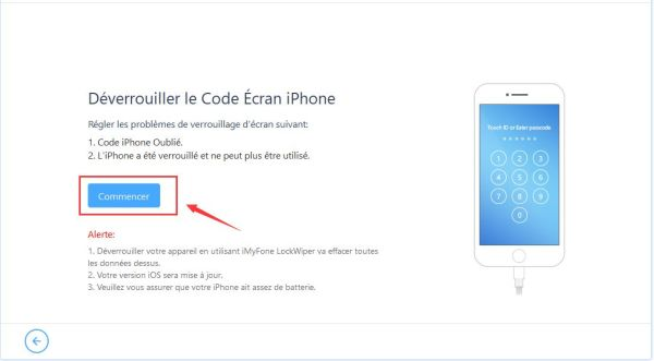 code verrouillage iphone oublié