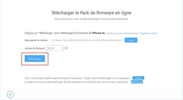 Télécharger le firmware iOS