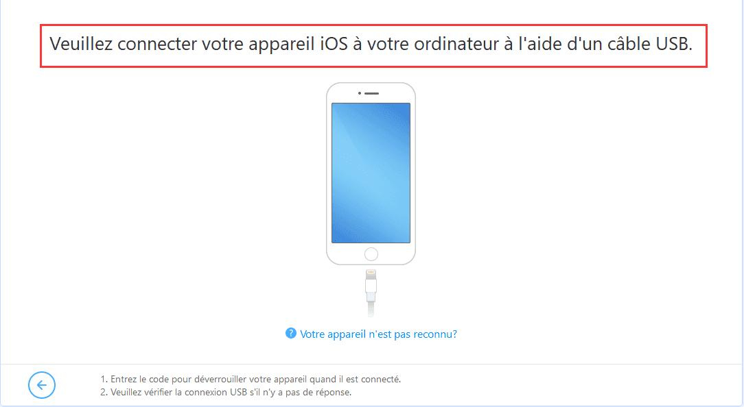 connecter votre iphone ou ipad a pc