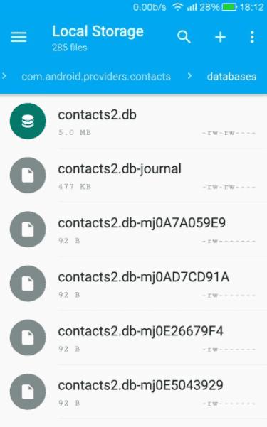 Où vos contacts sont-ils stockés sur Android