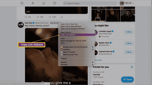 Twitter Vidéo Downloader