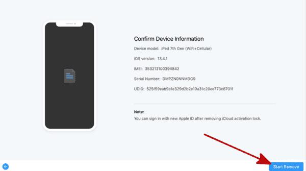 Supprimer le verrouillage d'activation iCloud