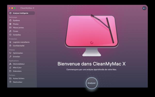 desinstaller application sur mac