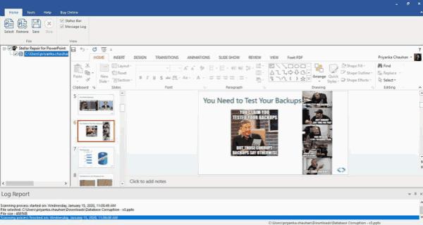comment recuperer un fichier powerpoint non enregistré