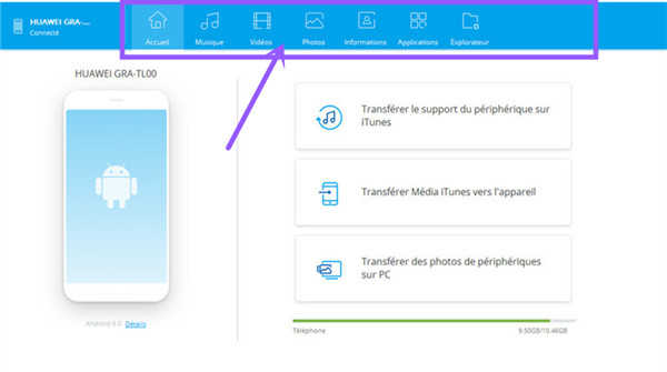 exporter photo android vers mac