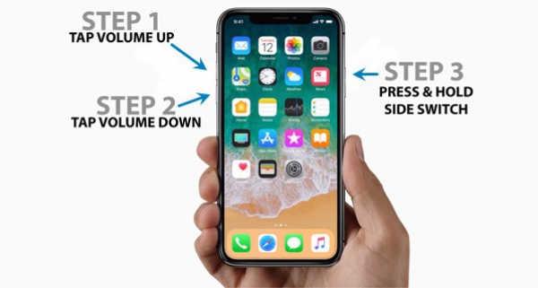 mode de récupération iphone