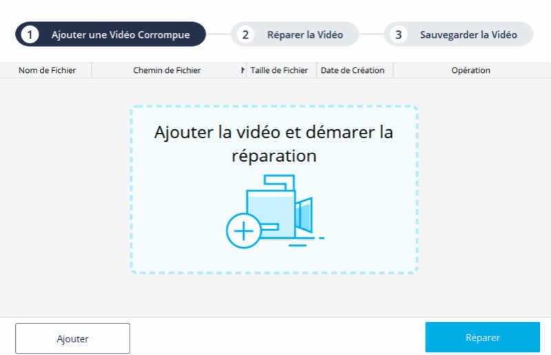 reparer video